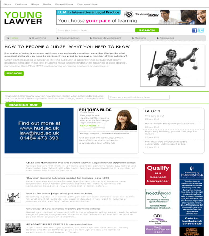 Young Lawyer career tips